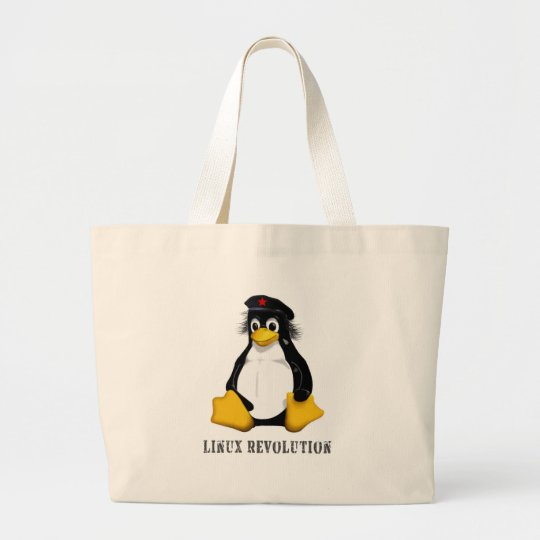 Linux Revolution Large Tote Bag