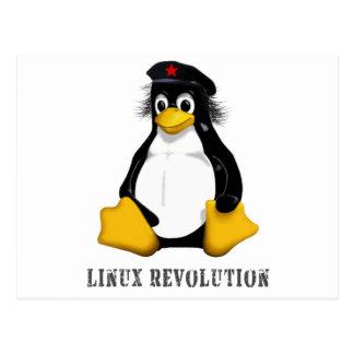 Linux Revolution Postcard