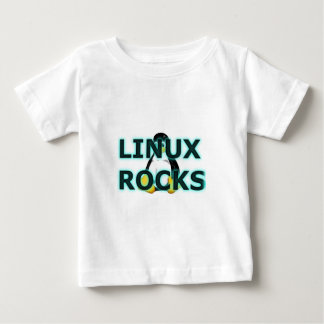 LINUX Rocks! Baby T-Shirt