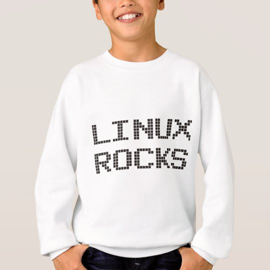 Linux Rocks Products & Designs! Sweatshirt