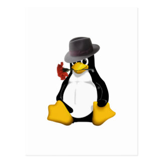 Linux tango postcard