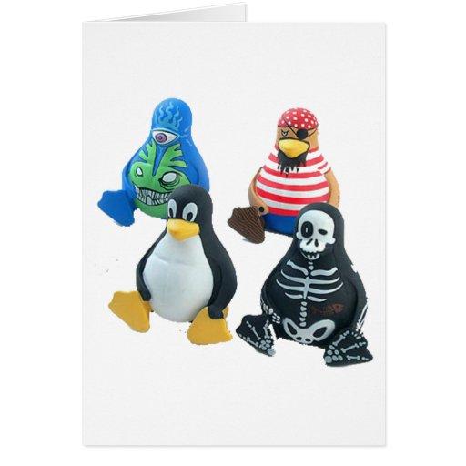 linux tarjeta de felicitación