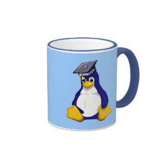 linux taza de dos colores
