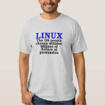 Linux. The OS people choose... Tees