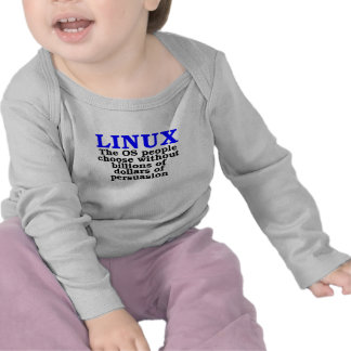 Linux. The OS people choose... T Shirt