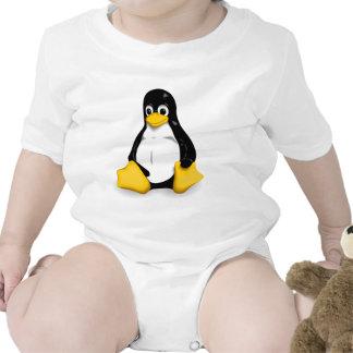 Linux Tux Baby Bodysuits