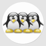 LINUX TUX BROTHERS STICKER