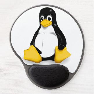 Linux TUX el cojín de ratón del PINGÜINO Alfombrillas Con Gel