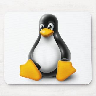 Linux Tux el pingüino Alfombrilla De Ratón