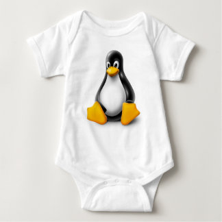 Linux Tux el pingüino Body Para Bebé