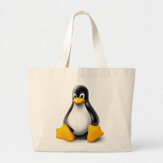 Linux Tux el pingüino Bolsa