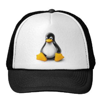 Linux Tux el pingüino Gorras