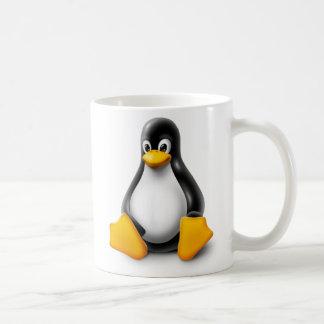 Linux Tux el pingüino Taza