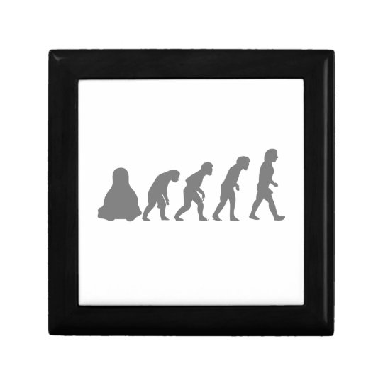 LINUX TUX EVOLUTION KEEPSAKE BOX