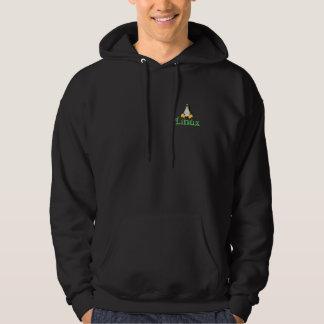 Linux Tux Hooded Sweatshirts