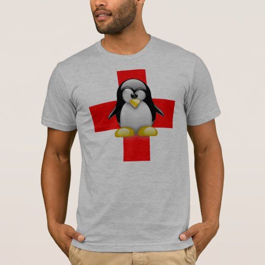 LINUX TUX MEDICAL HELP T-Shirt