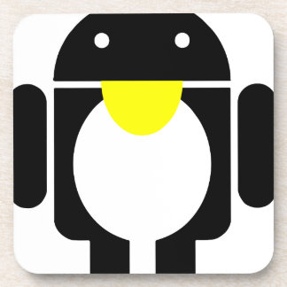 Linux Tux penguin android Coaster