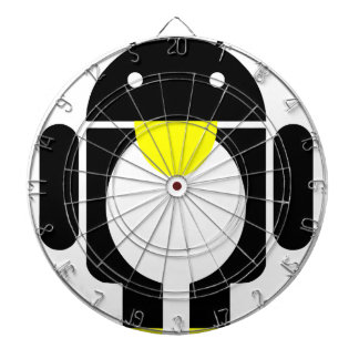 Linux Tux penguin android Dartboard With Darts