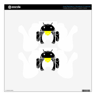 Linux Tux penguin android PS3 Controller Decals