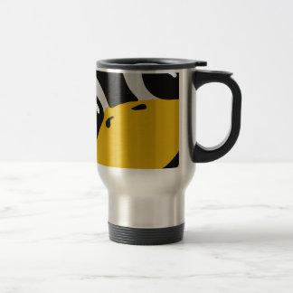 linux tux penguin eyes portrait 15 oz stainless steel travel mug