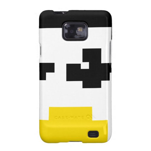 LINUX TUX PENGUIN PIXEL FACE SAMSUNG GALAXY SII CASES