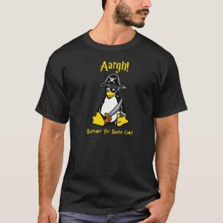 Linux Tux Pirate Dark T-Shirt