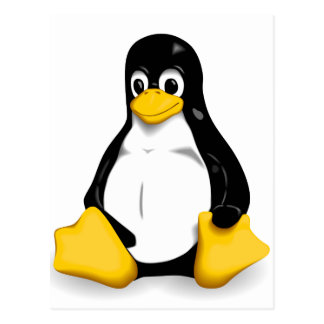 Linux Tux Post Cards
