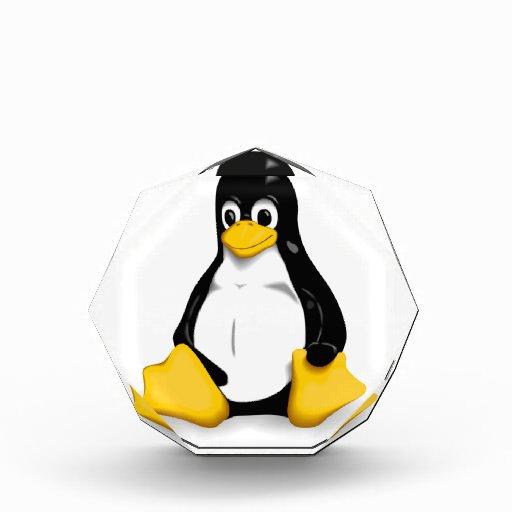 Linux Tux Products Acrylic Award