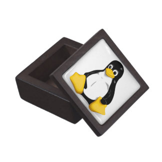 Linux Tux Products Gift Box