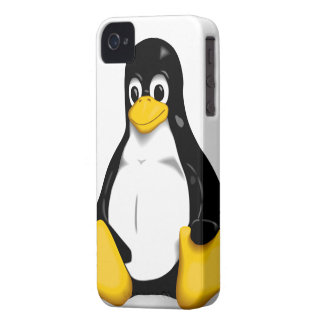 Linux Tux Products iPhone 4 Case-Mate Case