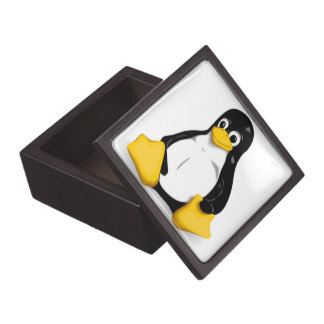 Linux Tux Products Keepsake Box