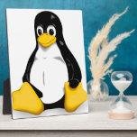 Linux Tux Products Plaque