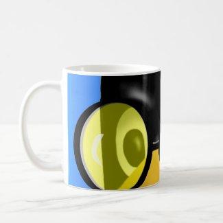 LINUX TUX SUN GLASSES mug