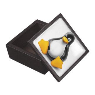 Linux Tux the Penguin Gift Box
