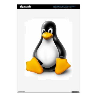 Linux Tux the Penguin iPad 3 Decals