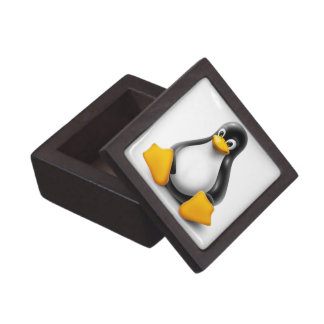 Linux Tux the Penguin Jewelry Box