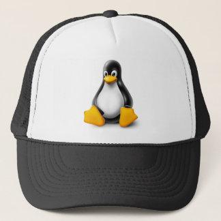 Linux Tux the Penguin Trucker Hat