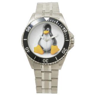 Linux Tux the Penguin Wrist Watch