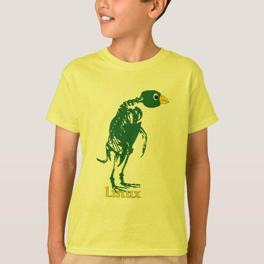 LINUX  TUX X-RAY ANATOMY T-Shirt