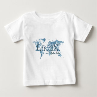 Linux Worldwide Baby T-Shirt