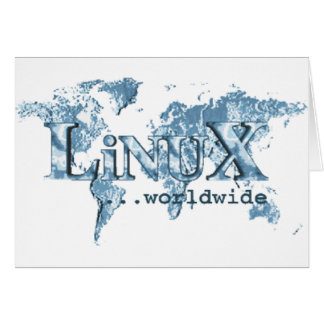 Linux Worldwide Card
