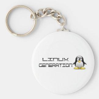 LinuxGeneration Llavero Redondo Tipo Pin