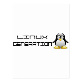 LinuxGeneration Postcard