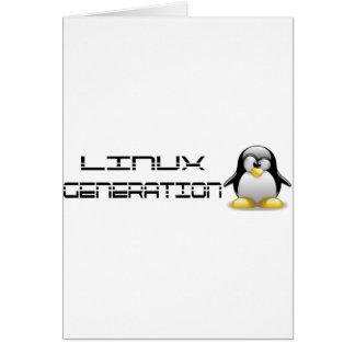 LinuxGeneration Tarjeta De Felicitación
