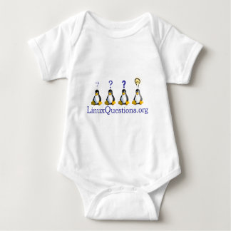 LinuxQuestions.org Logo Baby Bodysuit