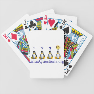 LinuxQuestions.org Logo Bicycle Card Deck