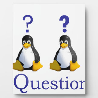 LinuxQuestions.org Logo Display Plaques