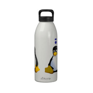 LinuxQuestions.org Logo Drinking Bottles