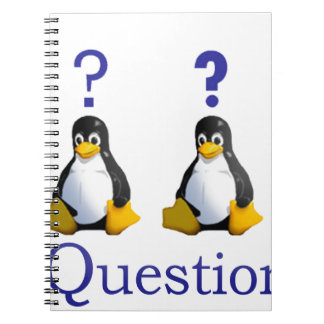 LinuxQuestions.org Logo Note Book