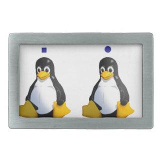 LinuxQuestions.org Logo Rectangular Belt Buckles